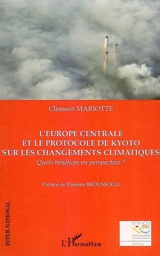 Couverture L'Europe centrale et le protocole de Kyoto sur les changements climatiques