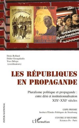 Couverture Les républiques en propagande