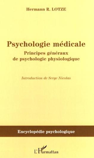Couverture Psychologie médicale