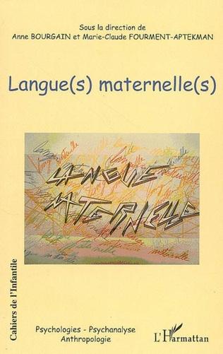 Couverture Langue(s) maternelle(s)