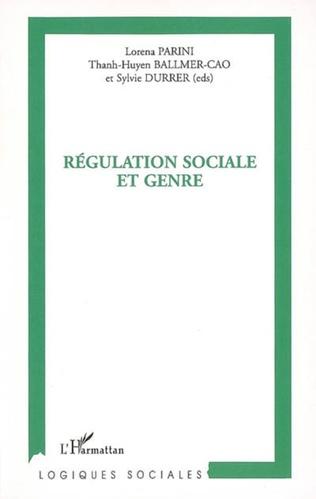Couverture Régulation sociale et genre
