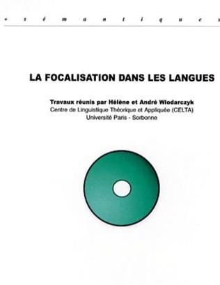 Couverture La focalisation dans les langues