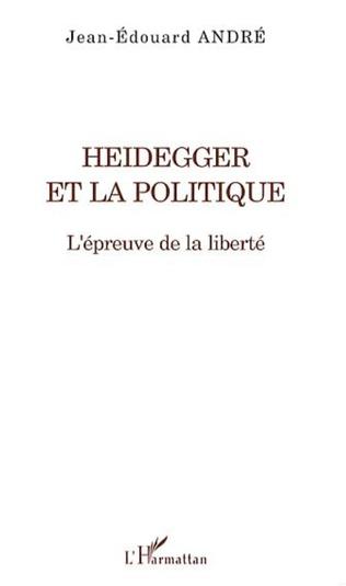 Couverture Heidegger et la politique