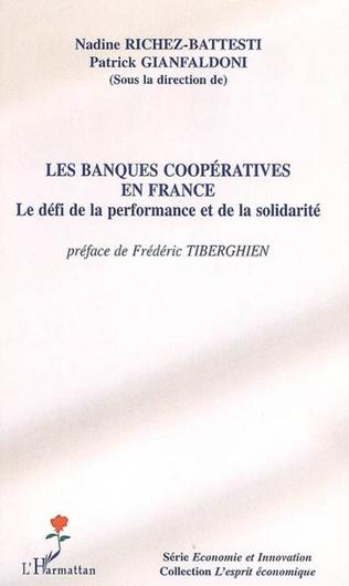 Couverture Les banques coopératives en France
