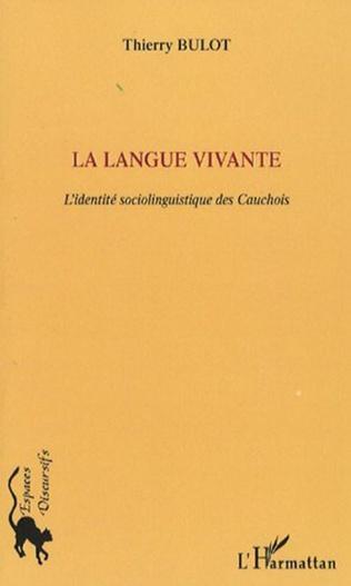 Couverture La langue vivante