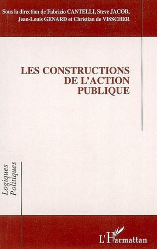 Couverture Les constructions de l'action publique