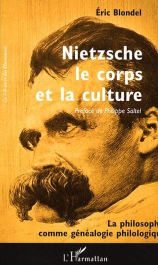 Couverture Nietzsche, le corps et la culture