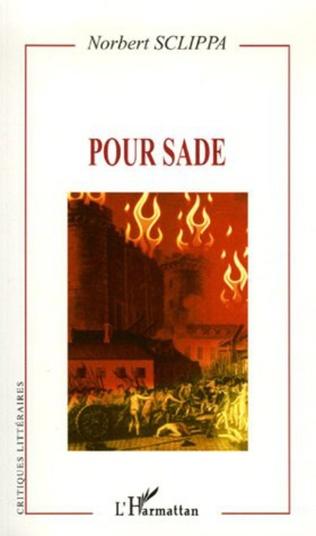 Couverture Pour Sade