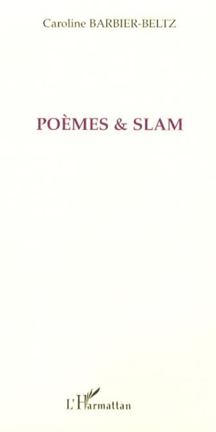 Couverture Poèmes et slam