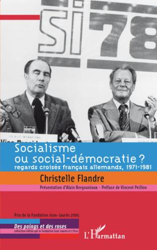 Couverture Socialisme ou social-démocratie ?