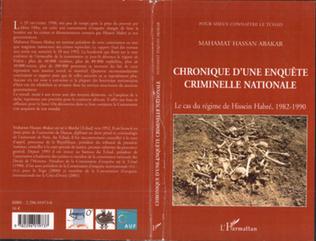 Couverture Chronique d'une enquête criminelle nationale