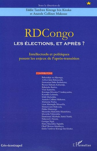 Couverture RDCongo : Les élections, et après ?