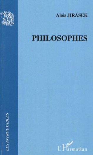 Couverture Philosophes
