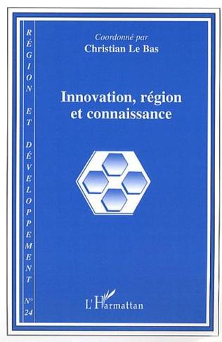 Couverture Innovation, région et connaissance
