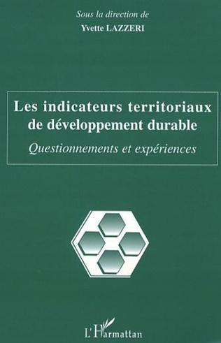 Couverture Les indicateurs territoriaux de développement durable