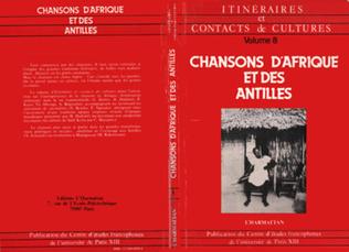 Couverture Chansons d'Afrique et des Antilles