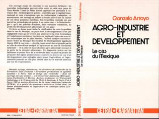Couverture Agro-industrie et développement : le cas du Mexique