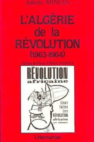 Couverture L'Algérie de la Révolution