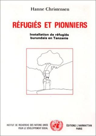 Couverture Réfugiés et pionniers