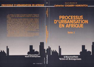 Couverture Processus d'urbanisation en Afrique