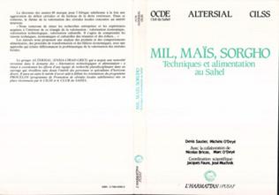 Couverture Mil, maïs, sorgho : techniques et alimentation au Sahel, OCDE club de Sahel, Pusaf Cilss