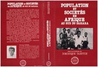 Couverture Population et société en Afrique au sud du Sahara