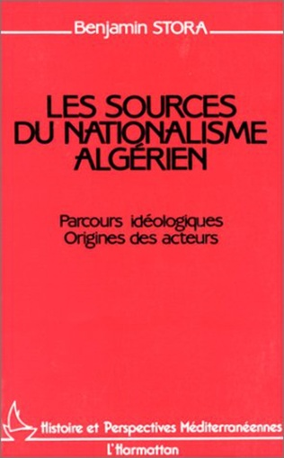 Couverture Les sources du nationalisme algérien