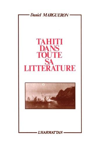 Couverture Tahïti dans toute sa littérature