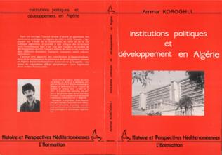 Couverture Institutions politiques et développement en Algérie