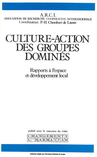 Couverture Culture-action des groupes dominés