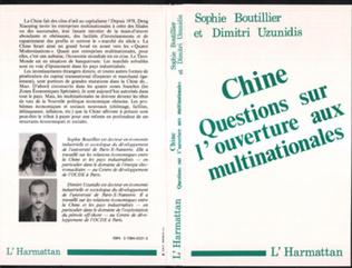 Couverture Chine, questions sur l'ouverture aux multinationales
