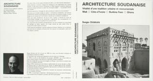 Couverture Architecture soudanaise