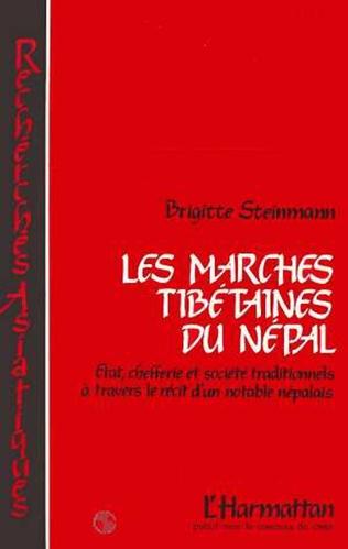 Couverture Les marches tibétaines du Népal