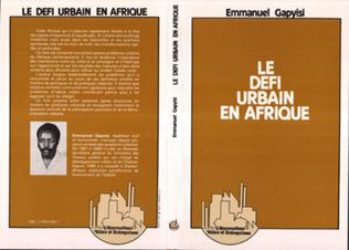 Couverture Le défi urbain en Afrique