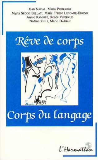 Couverture Rêve de corps, corps du langage