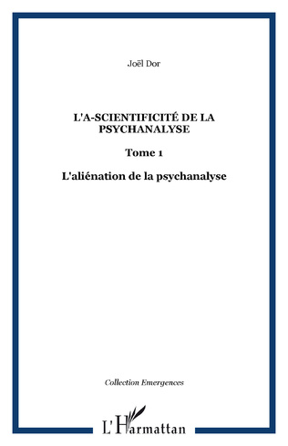 Couverture L'a-scientificité de la psychanalyse