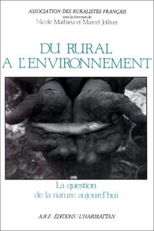 Couverture Du rural à l'environnement