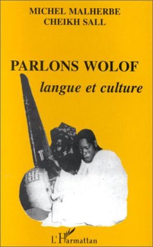 Couverture Parlons wolof : langue et culture