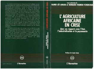 Couverture L'agriculture africaine en crise
