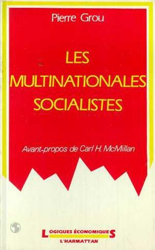 Couverture Les multinationales socialistes
