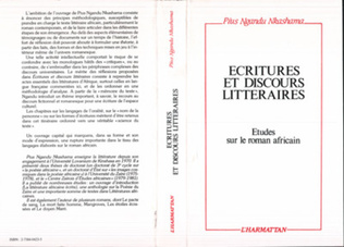 Couverture Ecritures et discours littéraires