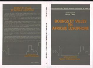 Couverture Bourgs et villes en Afrique lusophone