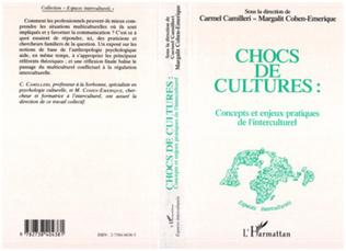 Couverture Chocs de cultures, concepts et enjeux pratiques de l'interculturel