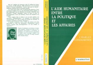 Couverture L'aide humanitaire, entre la politique et les affaires