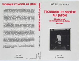 Couverture Technique et société au Japon