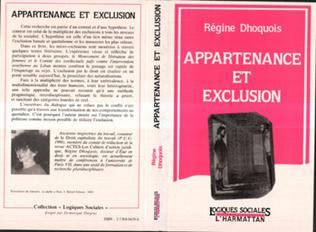 Couverture Appartenance et exclusion