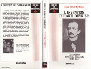 Couverture L'invention du Parti Ouvrier