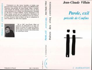 Couverture Parole, exil