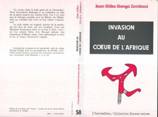 Couverture Invasion au coeur de l'Afrique