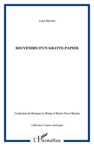 Couverture Souvenirs d'un gratte-papier